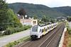 31 July 2012 :: Approaching Boppard is trans regio Deutsche Regionalbahn 460 013 -6