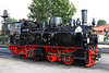 29 July 2012 ::  0-4-4-0 T Mallet compound articulated locomotive 99 5901 on shed at Wernigerode