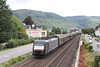 31 July 2012 :: A northbound freight approaching Boppard headed by 189 104 in MRCEdispolok colours
