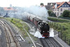 28 July 2012 :: 2-10-2 No. 99 7234 departs from Wernigerode with the 08.55 to Brocken