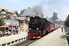 27 July 2012 :: 2-10-2 No. 99 7239 arriving into Drei Annen Hohne with the 13.25 Wernigerode to Brocken