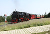 27 July 2012 :: 2-10-2, 99 7236 approaching the summit of The Brocken with the 10.25 from Wernigerode