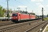 1 July 2014 :: 185 256 & 185 204 are hauling a northbound freight at Köln West