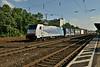 1 July 2014 :: Railpool 186 102  with a northbound intermodal train at Köln West