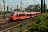 1 July 2014 :: DB 442 254 is seen approaching Köln Hbf  in a RSX (Rhein Sieg Express) branding