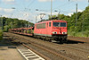 1 July 2014 :: 155 085 with empty car carriers at Köln West heading south
