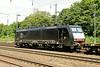 1 July 2014 ::  In MRCE dispolok black, 189 280 heads a northbound freight train at Köln West