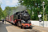 18 May 2016 :: The passing station on the Molli Railway is Heiligendamm where we see 99 2324-4. which was built 2008 / 09 on the 1035 from  Kühlungsborn West to Bad Doberan
