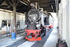 18 May 2016 :: 99 2331-9, built in 1951 in the locomotive shed at Kühlungsborn West