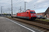 18 May 2016 :: 101 117 departs from Stralsund Hbf with the 0705 from Greifswald to Stuttgart Hbf