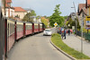 18 May 2016 :: A view of the street running through Bad Doberan while travelling on the 1036 from Bad Doberan to Kühlungsborn West