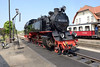 18 May 2016 :: 99 2322-8 arrives for watering at Kühlungsborn West