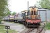 4 May 2013 :: A line up of locomotives at the rear of the depot at Haniska pri Kosiciach