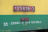 4 May 2013 :: A look at the number plate and classification details of a class 125 broad gauge locomotive