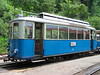 27 June 2004 :: Ce 2/3 electric tram no. 28 which came from the Tramways Lausannois system is stabled up at The  Blonay–Chamby Museum