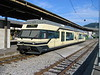 """27 June 2004 :: Seen on the metre gauge platform at Vevey is Transports Montreux–Vevey–Riviera Be2/6 7002 """"St Legier La Chiesaz"""" waiting to work a service to Blonay"""
