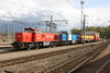 4 May 2012 :: Line of freight locos near Bettembourg.  1503, 1502, 1818 and 1501
