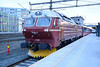 24 February 2014 :: Class Di 4 No. 4 652 has just arrived at Trondheim with the overnight sleeper train from  Bodø
