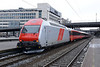 22 February 2014 :: Swiss built Class EL18, 18 2259 waiting to depart from Oslo Central with the 1402 to Trondheim