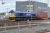 23 February 2014 :: Cargolink Class 66 No. T66404 waiting to depart from Trondheim with a South bound freight train