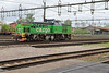 22 May 2015 :: Green Cargo T44, No 406 at Avesta Kyrlbo