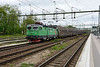 22 May 2015 :: Rc3 1311 with a small version of the Green Cargo livery is passing Hallsberg