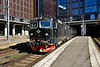 21 May 2015 :: Rc6 1357 is seen departing from Stockholm Central Station with 1654 to Hallsberg