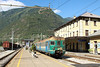 13 September 2013 :: An Italian EMU in the terminus platform at Tirano