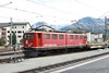 14 September 2013 :: Departing from Samedan hauling a freight train is Bo Bo Bo Class Ge 6/6 II No. 702