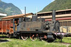 13 September 2013 :: Italian 0-6-0 tank locomotive No 851 057 in the mainline sidings at Tirano