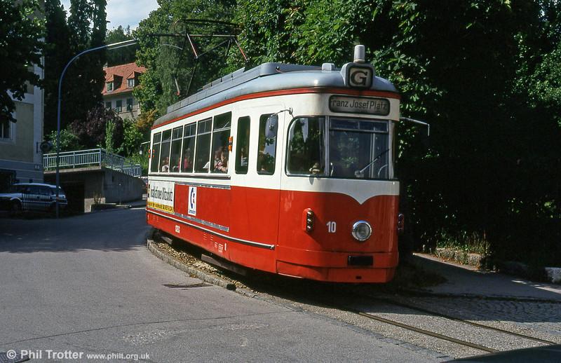 Gmunden 10 at Tennisplatz on 11th August 1992.