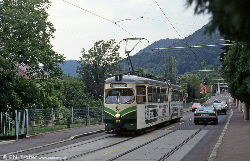 Car 272 at Eggenberg on 13th August 1992.