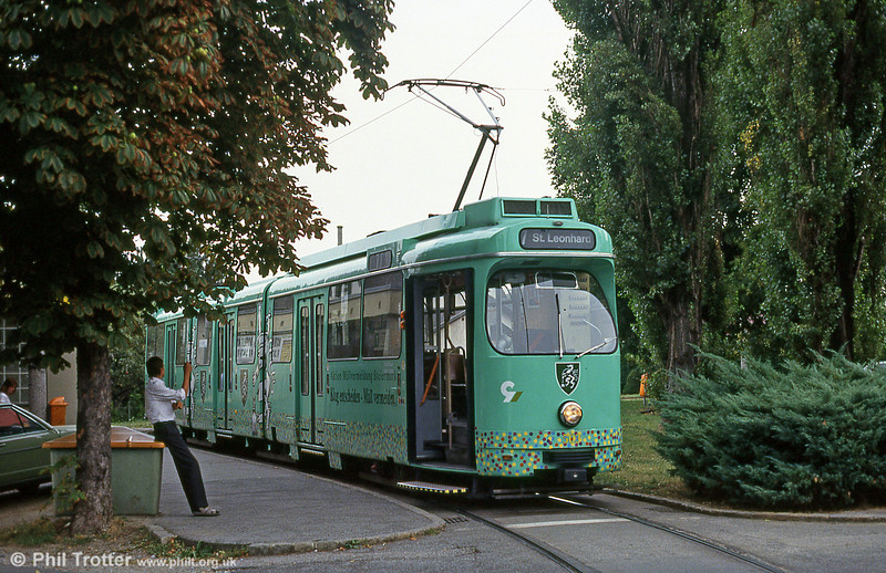 Car 503 at Wetzelsdorf on 13th August 1992.