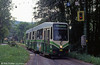 Graz 609, one of 12 similar cars built in 1986-87 at Maria Trost terminus on 13th August 1992.