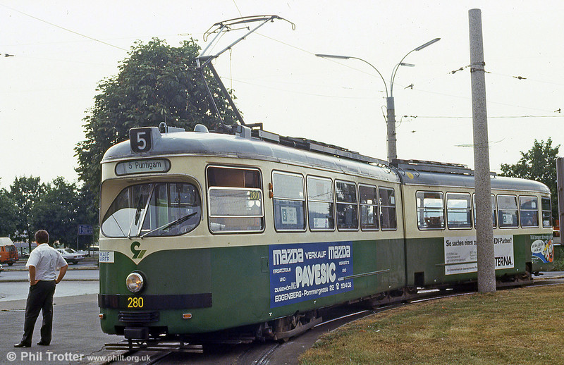 Graz 280 at Puntigam on 13th August 1992.