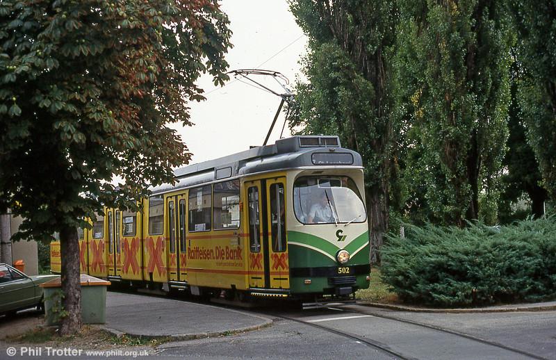 Car 502 at Wetzelsdorf on 13th August 1992.
