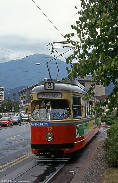 Innsbruck 72 at Amraser Straße on 10th August 1992.