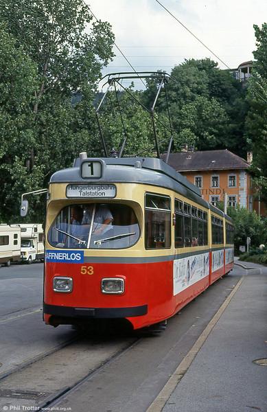 Innsbruck 53 at Bergisel on 10th August 1992.