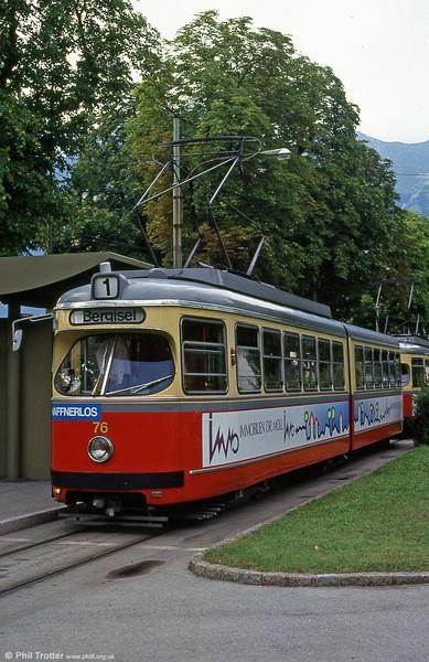 Innsbruck 76 at Bergisel, 10th August 1992.