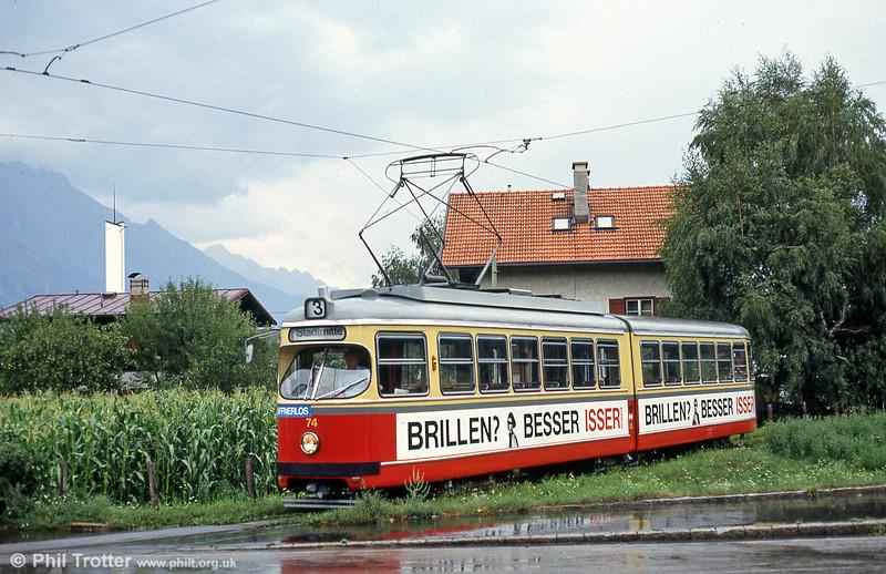 Innsbruck 74 at Amras on 10th August 1992.