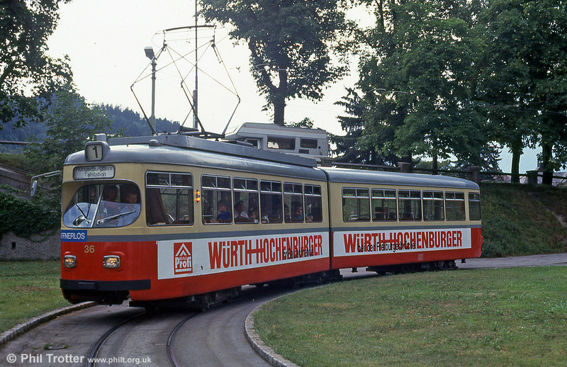 Innsbruck 36 at Bergisel on 10th August 1992.
