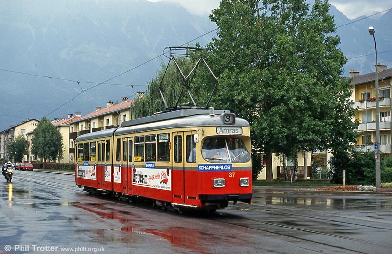 Innsbruck 37 at Amras on 10th August 1992.