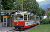 Innsbruck 76 at Bergisel terminus, 10th August 1992. (First published in Light Rail & Modern Tramway, 3/93).