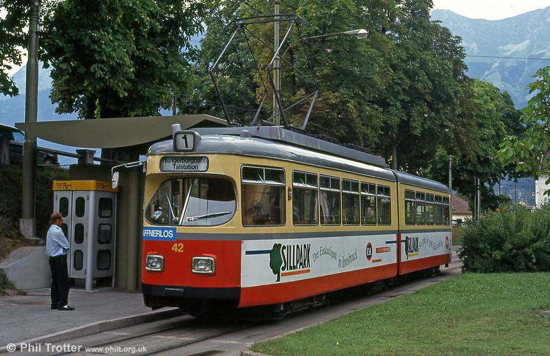 Innsbruck 42 at Bergisel, 10th August 1992.