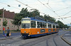 Newer Linz car 42 at Kleinmunchen on 12th August 1992. (First published in Light Rail & Modern Tramway, 3/93).