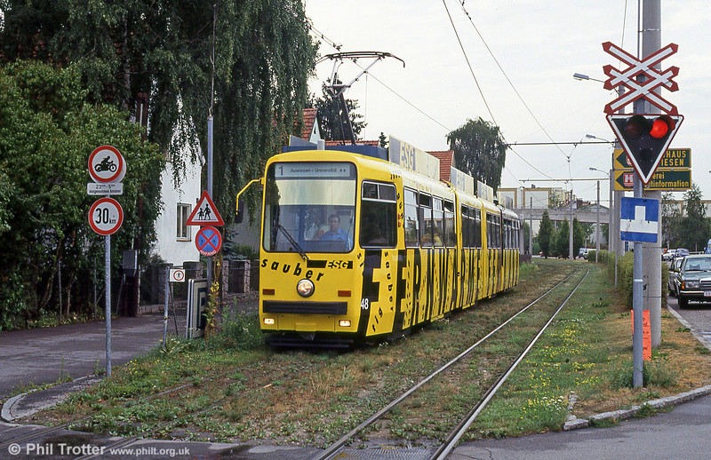 Car 48 at Amweisen on 12th August 1992.