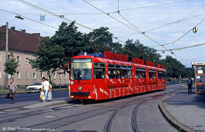 Car 52 at Kleinmunchen on 12th August 1992.