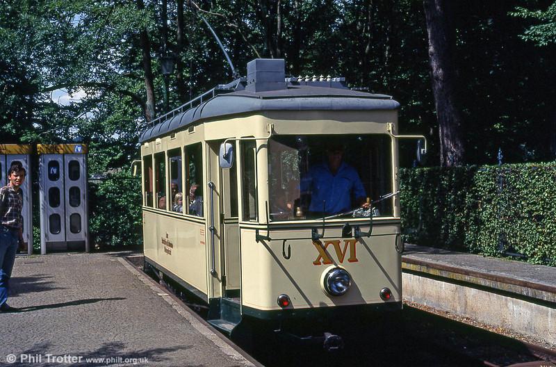 Car XVI at Postlingberg on 12th August 1992.