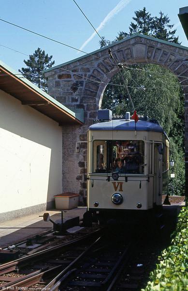 Car VI at Postlingberg on 12th August 1992.