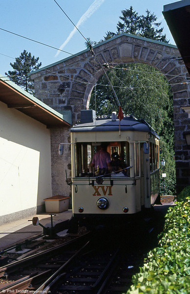Car XVI at Postlingberg on 12th August 1992.